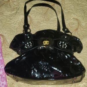 Black shiny BETTY BOOP bag
